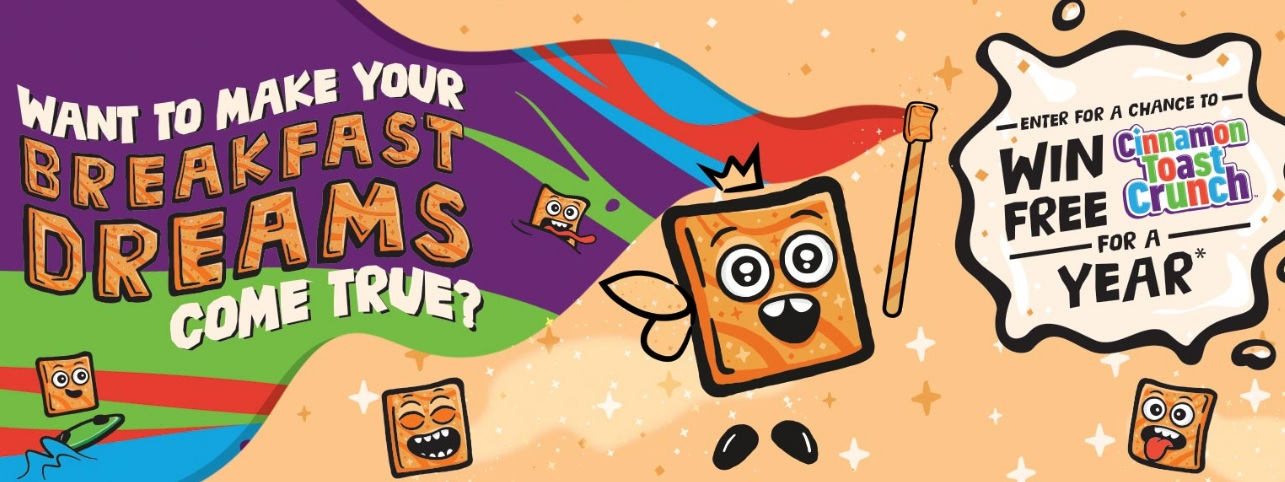 Cinnamon Toast Crunch For A Year Sweepstakes